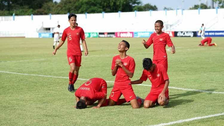 Berita sport: Daftar klasemen akhir Grup A Piala AFF U-15 2019 membuat Timnas Indonesia finis teratas dan Timor Leste secara mengejutkan tersingkir. Copyright: © pssi.org