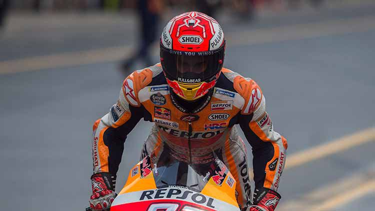 Repsol Honda angkat bicara soal kegagalan Marc Marquez menjuarai gelaran MotoGP Austria 2019. Mirco Lazzari gp/Getty Images. Copyright: © Mirco Lazzari gp/Getty Images