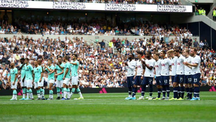 Inter Milan sukses mengalahkan Tottenham Hotspur lewat drama adu penalti Copyright: © Michael Steele/GettyImages