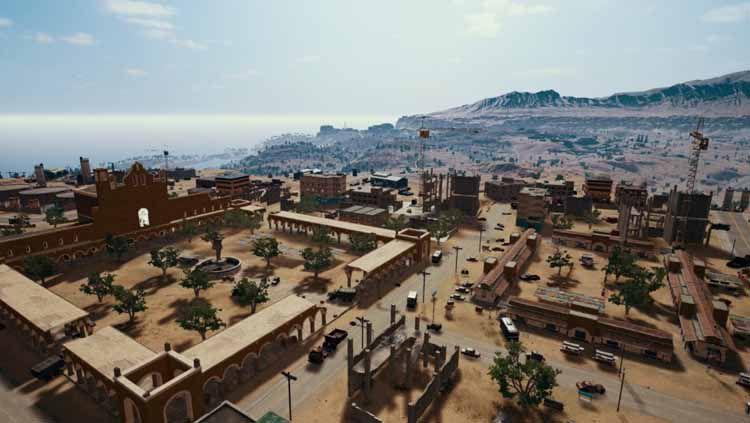 Miramar, salah satu tempat di Game eSports PUBG Mobile Copyright: © Variety