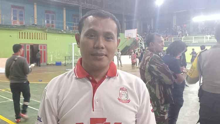 Wakil Ketua Asosiasi Futsal Provini Sulawesi Selatan (AFP Sulsel), Ahmad Susanto. Copyright: © Mardiana Majid, Manajer RGC Foundation FC