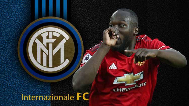 Romelu Lukaku disebut akan segera tinggalkan Manchester United dan gabung Inter Milan. Copyright: © footyrenders/alphacoders