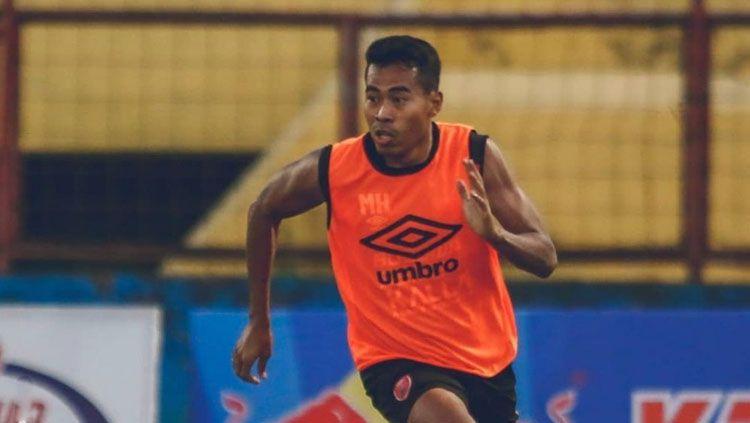 Munhar, berlatih di PSM Makassar.