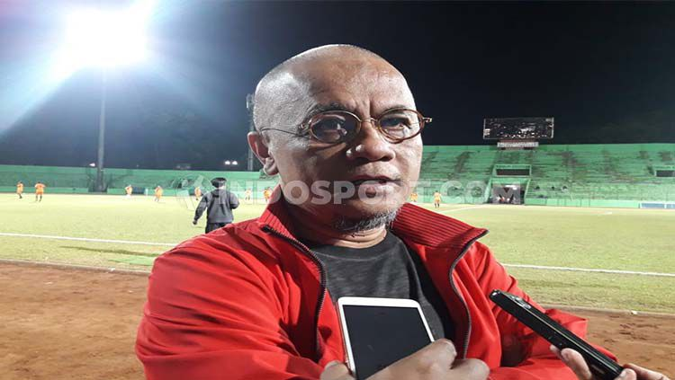 Manajer Madura United, Haruna Soemitro. Copyright: © Ian Setiawan/INDOSPORT