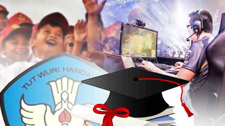 Pro Kontra Esport masuk kurikulum pendidikan di Indonesia. Copyright: © INDOSPORT/Istimewa