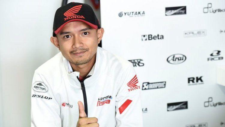 Dimas Ekky Pratama, pembalap Moto2 asal Indonesia Copyright: © Twitter/@@honda_team_asia