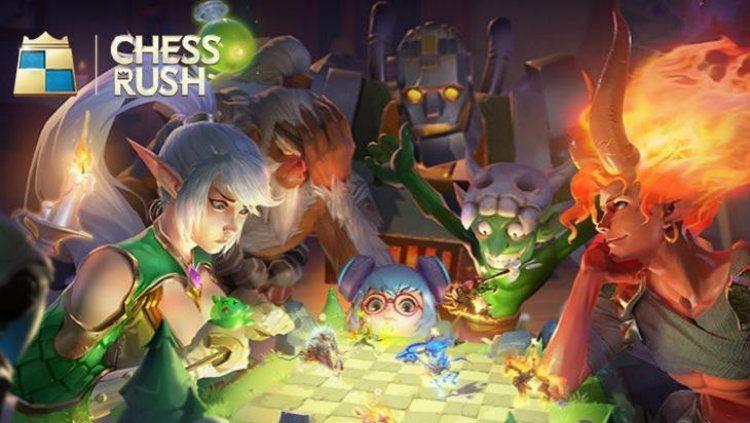 Game Chess Rush dari Tencent. Copyright: © HiTekno.com