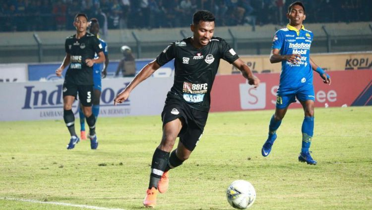 Indosport - Pemain Tira Persikabo, Rifad Marasabessy.