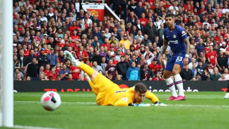 Bintang klub Liga Inggris Chelsea, Kepa Arrizabalaga, mengancam akan hengkang usai Frank Lampard melanggar janji yang dibuat oleh manajemen klub Copyright: © premierleague