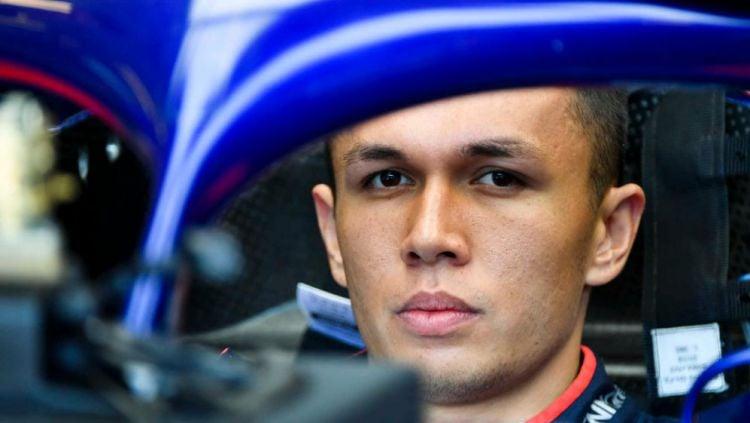 Alex Albon, pembalap Thailand yang akan memperkuat tim F1 Red Bull Copyright: © F1