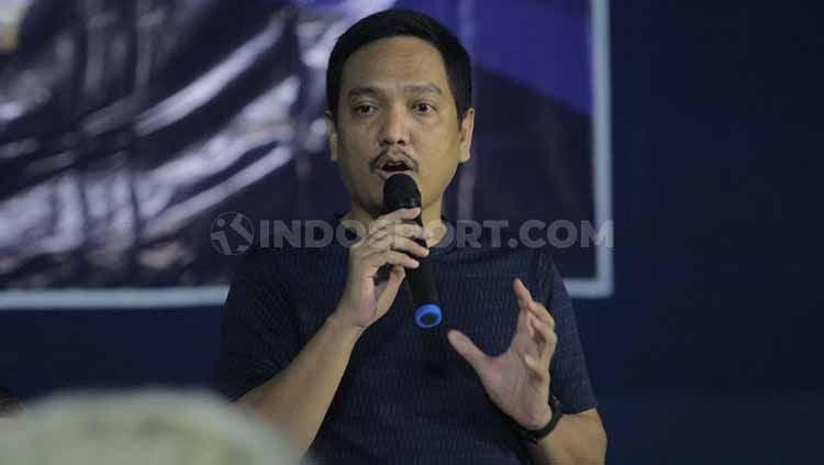 CEO PSIS Semarang, Yoyok Sukawi. Foto: Alvin/INDOSPORT Copyright: © Media PSIS