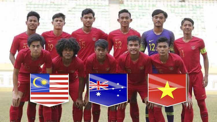 Skuat Timnas Indonesia U-18. Foto: Instagram/@sutanzicooo Copyright: © Instagram/@sutanzicooo
