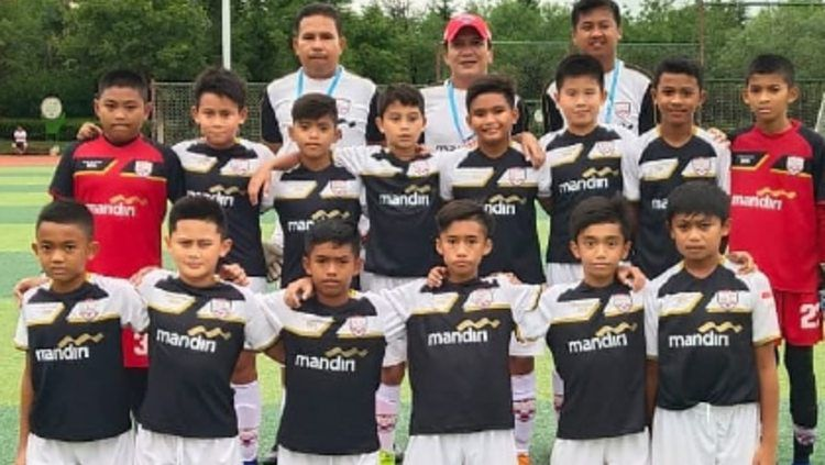 Skuat Asiana Soccer School di kompetisi junior internasional, Gothia Cup 2019 di China Copyright: © instagram.com/zizou_lubis