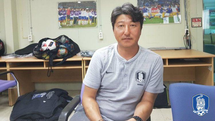 Pelatih Timnas Korea Selatan U-16, Song Kyung-seop tidak peduli dengan hasil laga melawan Indonesia Copyright: © kfa.or.kr