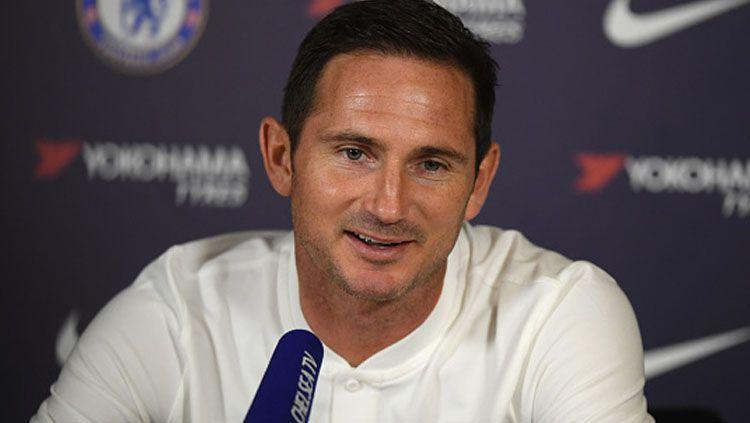 Pelatih klub Liga Inggris, Chelsea, Frank Lampard mendapat dana segar guna belanja pemain di bulan Januari 2020 mendatang. Copyright: © Darren Walsh/GettyImages