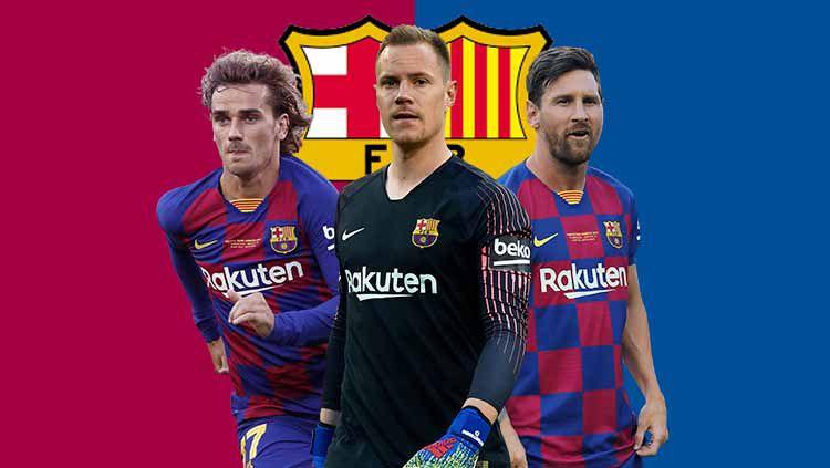 Bagaimana peta kekuatan Barcelona jelang kompetisi musim 2019/20? Copyright: © Grafis: Eli Suhaeli/INDOSPORT