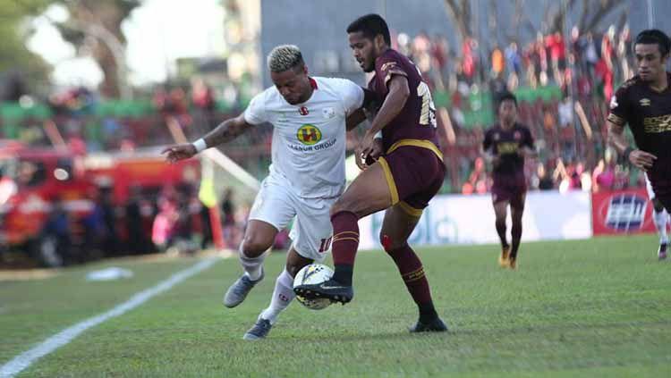 Terseok-seok di papan bawah klasemen sementara Liga 1 2020, Barito Putera dapat angin segar usai kedatangan Bayu Pradana jelang vs PSM Makassar. Copyright: © Media Barito Putera
