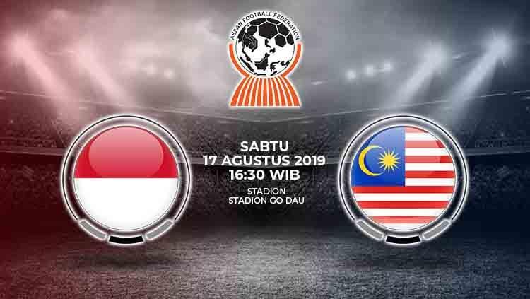 Laga semifinal Piala AFF U-18 2019 antara Indonesia melawan Malaysia pada Sabtu (17/8/19) pukul 16.30 WIB bisa disaksikan lewat live streaming di SCTV. Copyright: © INDOSPORT