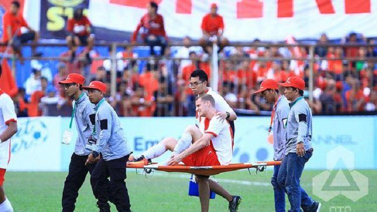 Ronald Hikspoors, mantan pemain PSM Makassar Copyright: © PT GTS