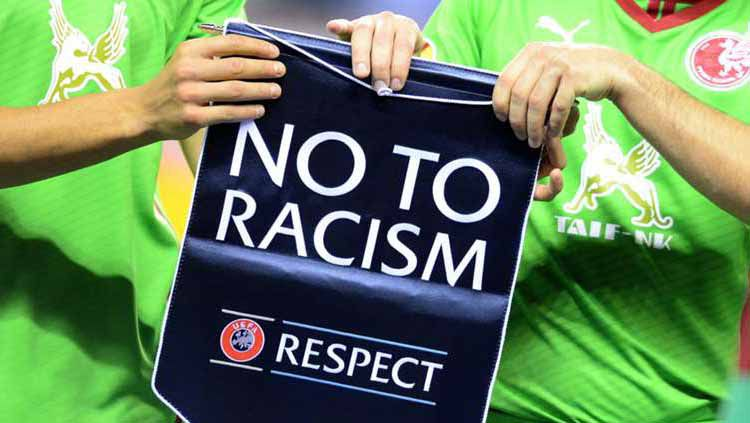 Say No Racism in Football Copyright: © Futbolgrad