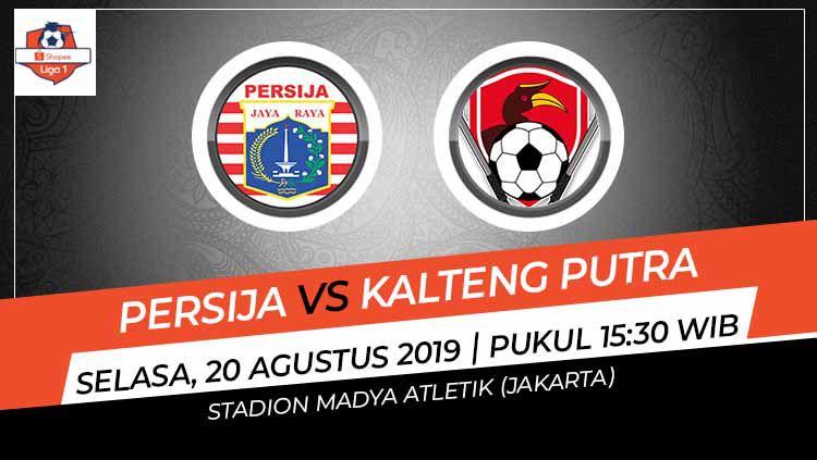 Prediksi Pertandingan Liga 1 2019: Persija Jakarta vs
