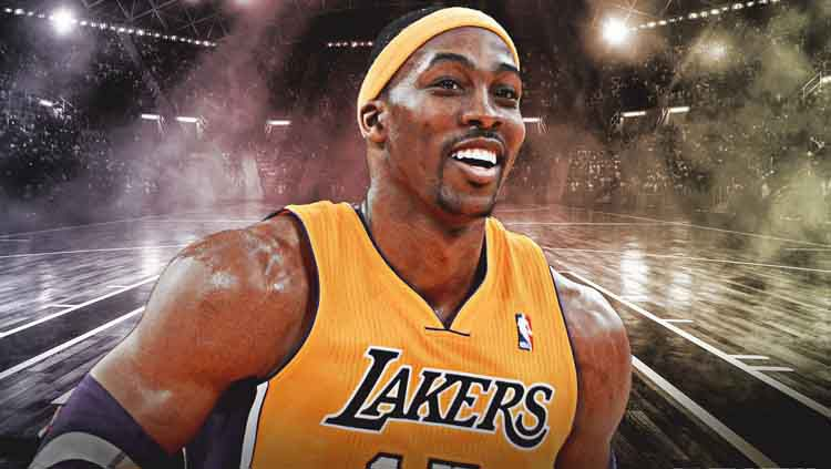 Dwight Howard, calon pemain LA Lakers. Copyright: © Clutch Points