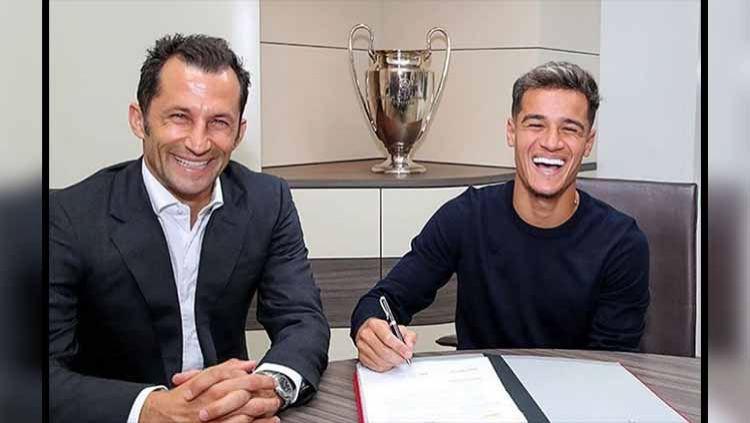Philippe Coutinho resmi gabung ke Bayern Munchen. Foto: Instagram@fcbayern Copyright: © Instagram@fcbayern