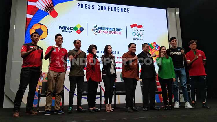 SEA Games 2019 Filipina bakal disiarkan di Indonesia oleh salah satu stasiun televisi swasta. Copyright: © Zainal Hasan/INDOSPORT