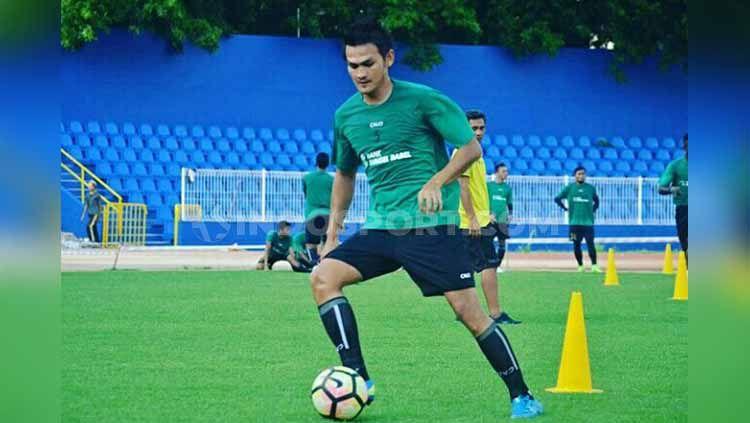 Mantan kapten Bali United, Bobby Satria gabung Sriwijaya FC. Copyright: © Muhammad Effendi/INDOSPORT