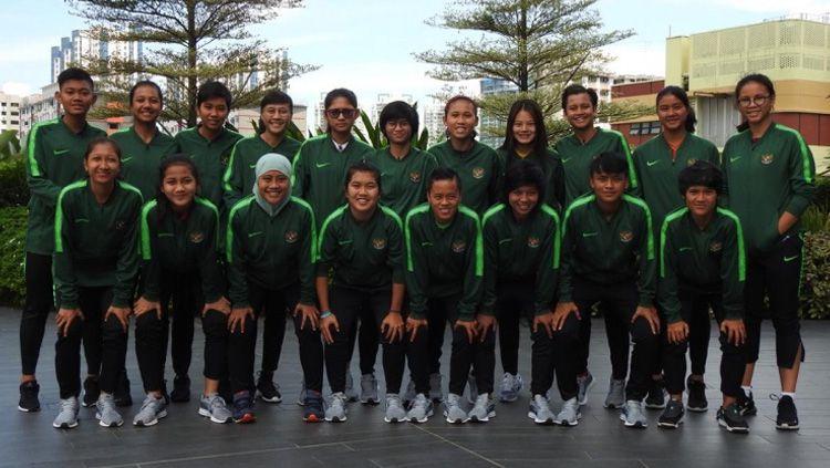 Skuat Timnas Putri Indonesia di ajang Piala AFF Wanita 2019 lalu. Copyright: © PSSI