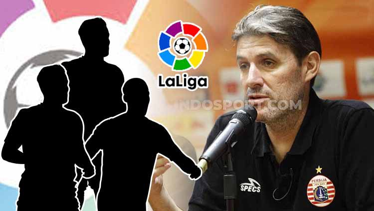 Indosport - Banuelos meminta pemain jebolan LaLiga Spanyol ke Persija Jakarta.