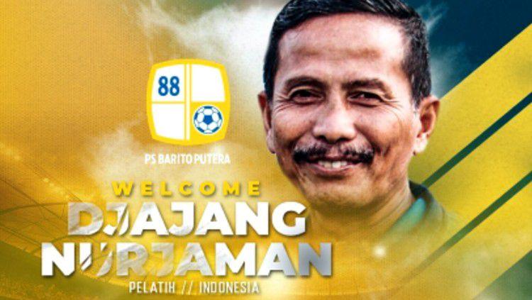 Djadjang Nurdjaman resmi menjadi pelatih Barito Putera di putaran kedua Liga 1 2019 Copyright: © Barito Putera