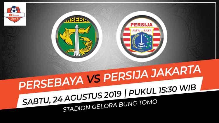 Prediksi Persebaya Surabaya vs Persija Jakarta di Liga 1 2019. Copyright: © INDOSPORT