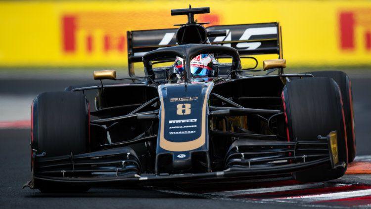 Romain Grosjean dari tim Haas F1. Copyright: © Lars Baron/Getty Images