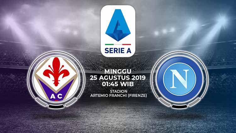 Pertandingan Fiorentina vs Napoli. Copyright: © Grafis: Yanto/Indosport.com