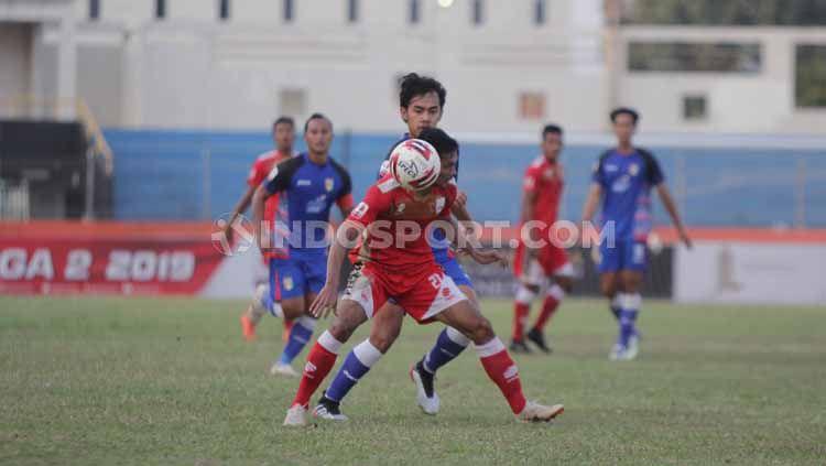 Laga pertandingan antara Persis Solo vs Mitra Kukar, Jumat (23/08/2019). Copyright: © Ronald Seger Prabowo/INDOSPORT