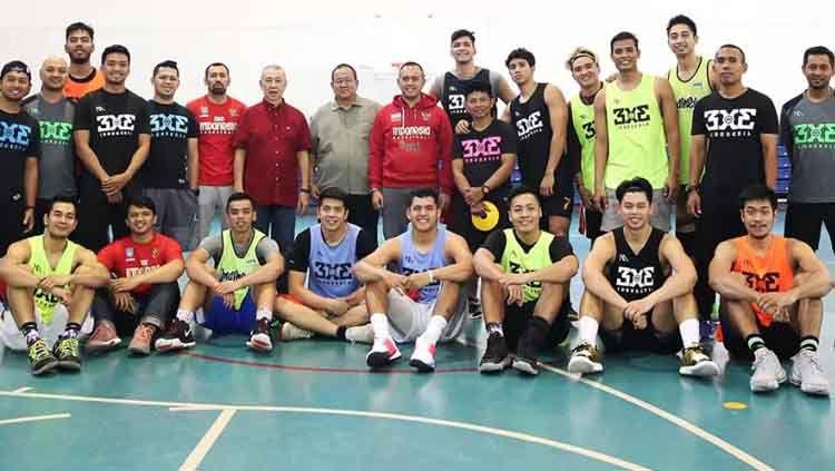 Tim nasional bola basket 3X3 putra Indonesia telah memanggil 15 pemain untuk diseleksi menuju SEA Games 2019 di Manila Philippines. Copyright: © iblindonesia
