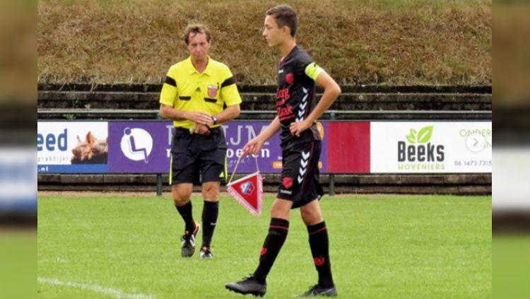 Ivar Jenner, gelandang keturunan Indonesia, tengah menghadapi nasib terancam dicopot dari jabatan kapten klubnya, FC Utrecht. Copyright: © https://www.instagram.com/ivar.jenner/