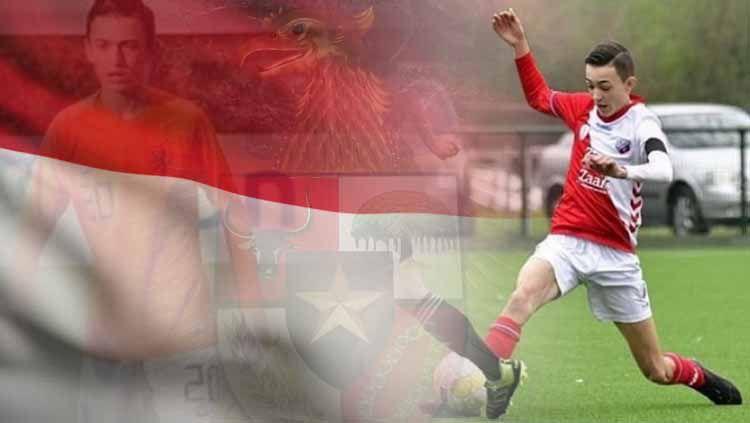 Ivar Jenner, Wonderkid Indonesia di Eredivisie Belanda Copyright: © https://www.instagram.com/ivar.jenner/INDOSPORT