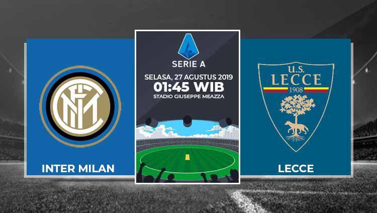 Prediksi Inter Milan vs Lecce. Copyright: © INDOSPORT