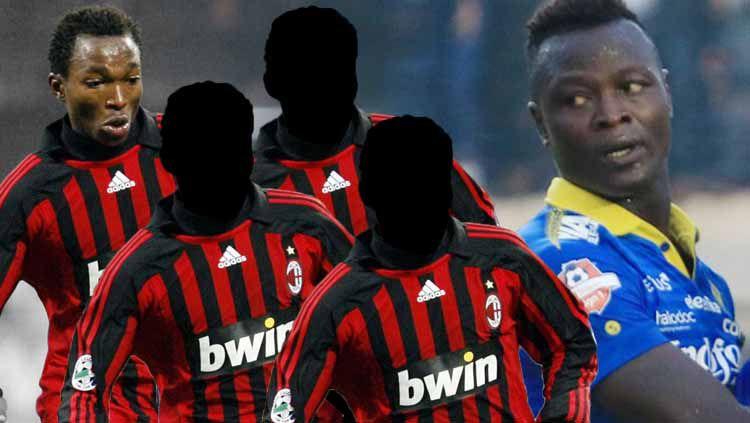 4 pemain Afrika eks AC Milan yang bisa gantikan Ezechiel di Persib. Copyright: © INDOSPORT
