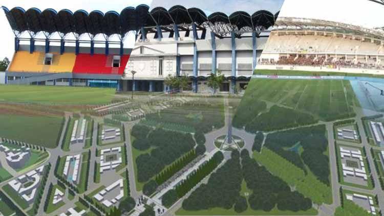 Intip penampakan 2 Stadion ibu kota yang baru, Penajam Paser Utara Copyright: © INDOSPORT