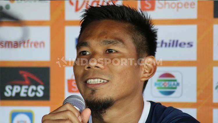 Wacana digulirkannya kembali Liga 1 2020 mulai September atau Oktober mendatang disambut bahagia bek Borneo FC, Wildansyah. Copyright: © Nofik Lukman Hakim/INDOSPORT
