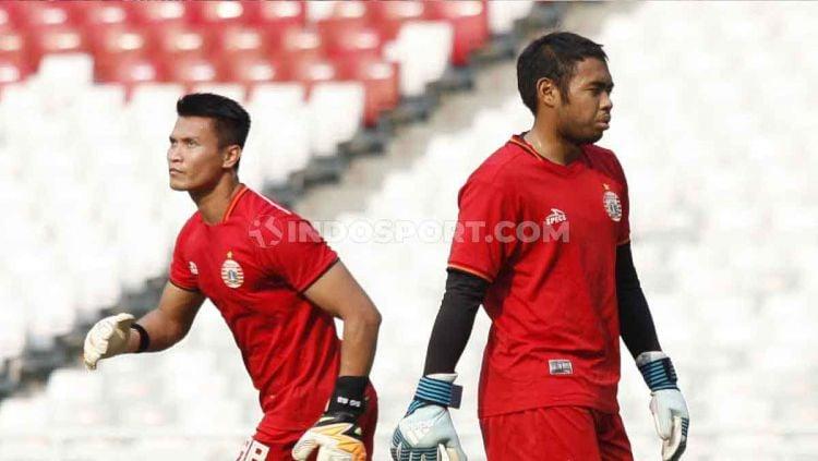 Berikut ini deretan kiper jangkung atau postur tubuh yang sangat tinggi di Liga 1 2020, termasuk di dalamnya ada eks PSM Makassar. Copyright: © Herry Ibrahim/INDOSPORT