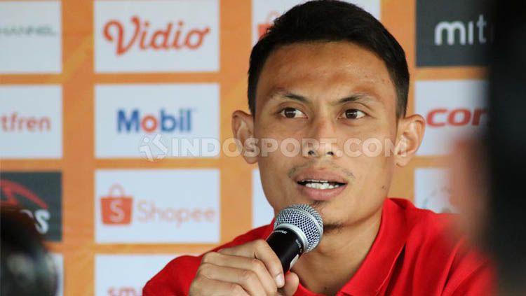 Bek Bali United, Dias Angga Putra. Copyright: © Nofik Lukman/INDOSPORT