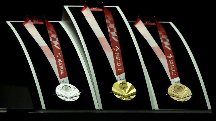 Medali Paralimpiade Tokyo 2020. Copyright: © Matt Roberts/Getty Images