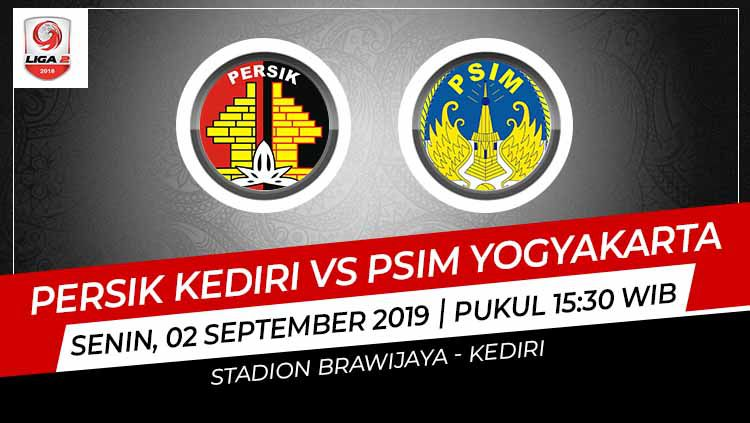 Pertandingan Persik Kediri vs PSIM Yogyakarta. Copyright: © Grafis: Indosport.com