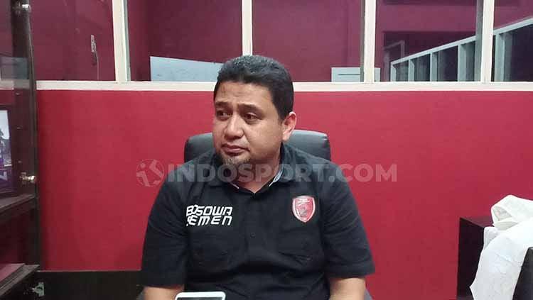 CEO PSM Makasasr, Munafri Arifuddin, menyebut ada dua faktor yang menjadi biang kerok yang membuat timnya menelan kekalahan. Copyright: © Adriyan Adirizky/INDOSPORT