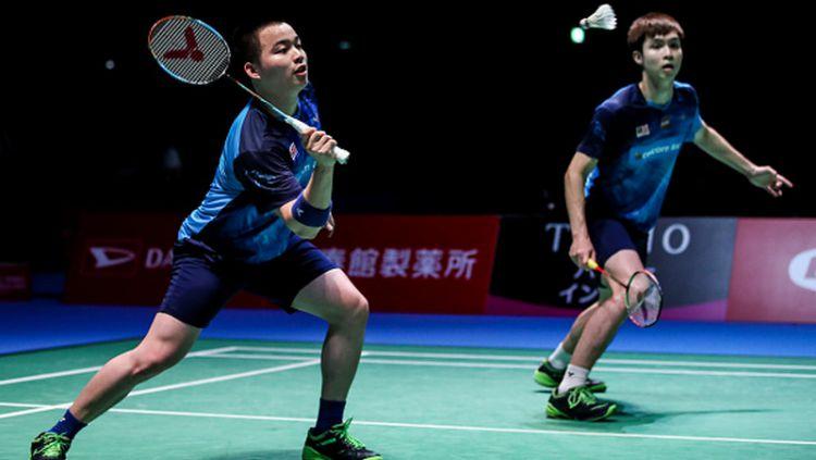 Media Malaysia menyebutkan bahwa kemenangan Aaron Chia/Soh Wooi Yik atas Fajar/Rian di Fuzhou China Open 2019, merupakan kemenangan besar mereka. Copyright: © Shi Tang/Getty Images