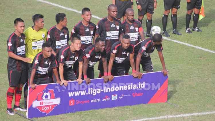 Skuat Persipura Jayapura Liga 1 2019. Copyright: © Sudjarwo/INDOSPORT
